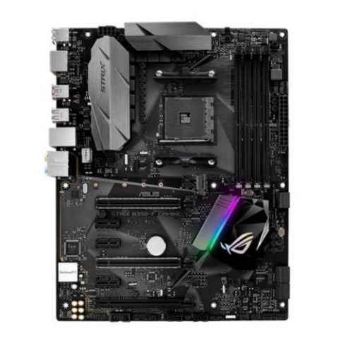 Asus ROG STRIX B350-F GAMING, AMD B350, AM4, ATX, 4 DDR4, XFire, HDMI, DP, RGB Lighting